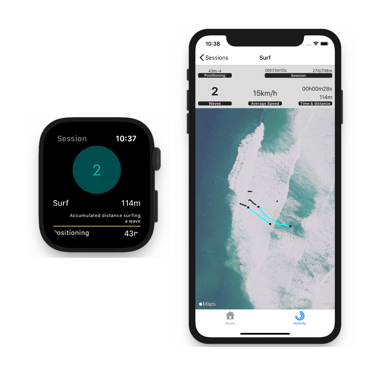 Surftag App screenshot